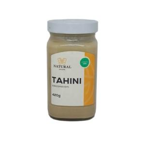 Natural tahini üveges 420g