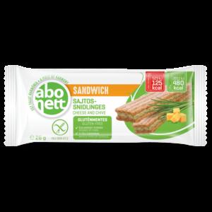 Abonett sandwich sajtos-snidlinges 26g