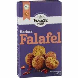 Bauckhof bio harissa falafel  - gluténmentes 160g