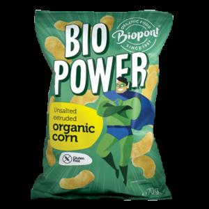 Biopont bio extrudált kukorica, sótlan gluténmentes (Bio Power) 70g