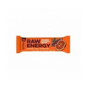 Bombus energy szelet narancs és kakaóbab 50g