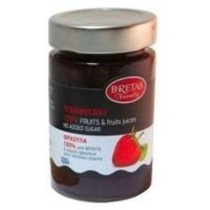 Bretas 100% dzsem - eper 240g