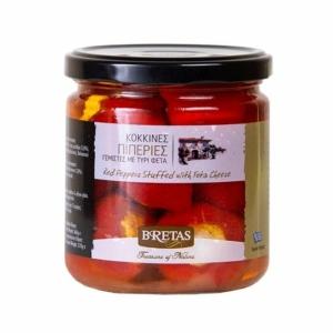 Bretas harang paprika fetával töltve - piros 360g