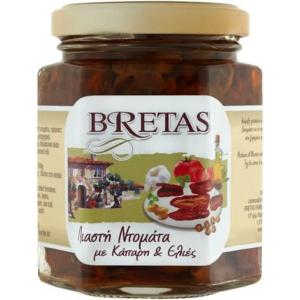 Bretas szárított paradicsom olíva- és kapribogyóval 190g
