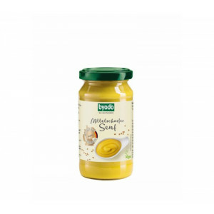Byodo bio enyhén csípős mustár 200ml