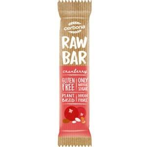 Cerbona raw bar vörösáfonyás szelet 30g