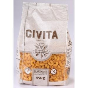 Civita tészta szarvacska 450g