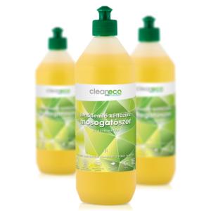 Cleaneco fertőtlenítő kétfázisú mosogatószer 1l