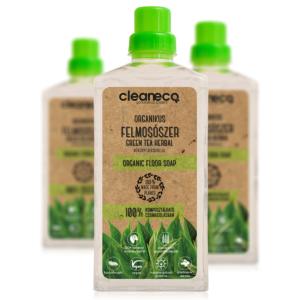Cleaneco organikus felmosószer green tea herbal illattal 1l