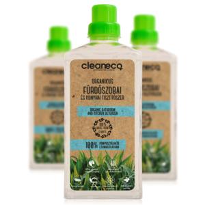 Cleaneco organikus fürdőszobai és konyhai tisztítószer 1l