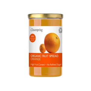 Clearspring bio gyümölcskrém - narancs 280g
