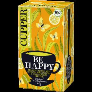 Cupper bio Be Happy - frissítő tea - 20 filter 40g