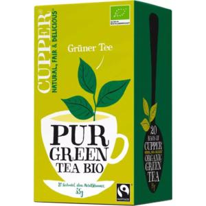 Cupper bio Green Tea - zöld tea - 20 filter 35g