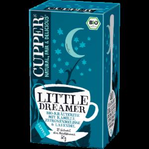 Cupper bio Little Dreamer - nyugtató tea - 20 filter 30g