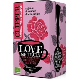 Cupper bio Love Me Truly - fűszeres tea - 20 filter 44g