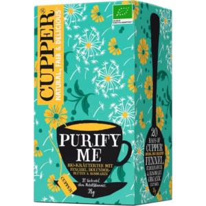 Cupper bio Purify Me - tisztító tea - 20 filter 38g