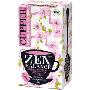 Cupper bio Zen Balance Tea - egyensúly tea 20 filter 35g