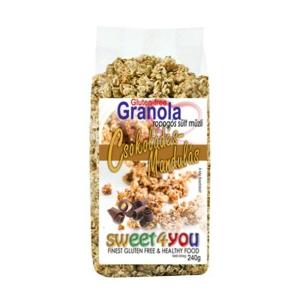 Dia-Wellness gluténmentes granola csokis 240g