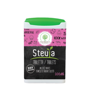 Eden Premium stevia tabletta 200db