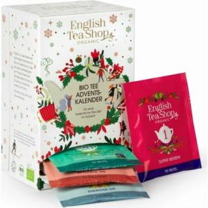 English Tea Shop Adventi kalendárium filteres bio teaválogatás - 25 filter 50g