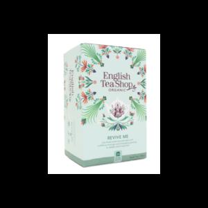 English Tea Shop Revive me koffeinmentes bio tea - 20 filter 30g