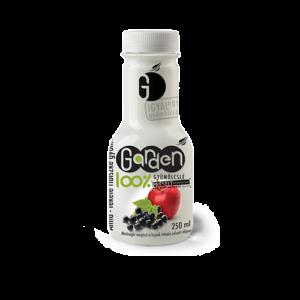 Garden 100% alma-feketeribizli gyümölcslé 250ml
