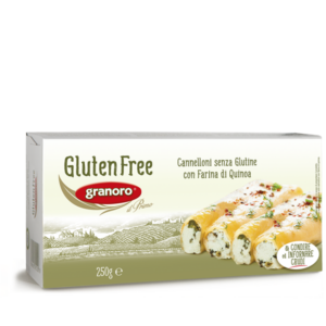Granoro gluténmentes cannelloni tészta 250g