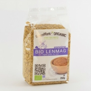 Greenmark Organic bio lenmag aranysárga 250g