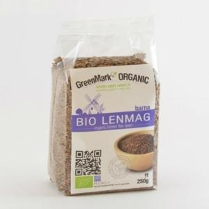 GreenMark  Organic bio lenmag barna 250g