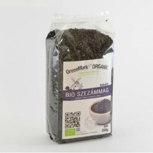 GreenMark Organic bio szezámmag fekete 250g