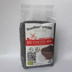 GreenMark Organic bio étkezési mák 250g