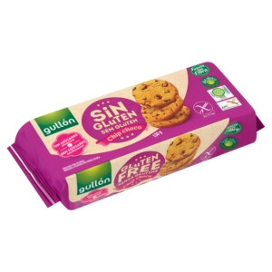 Gullon chip choco diabetikus és gluténmentes keksz 130g
