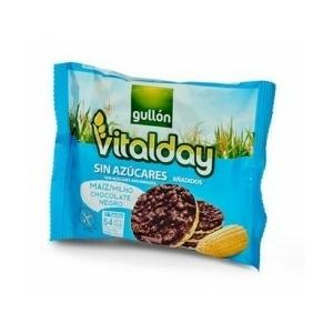 Gullon Vitalday gluténmentes étcsokoládés puffasztott kukorica szelet - cukormentes 25g