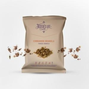 Hester's Life Cinnamon Granola - fahéjas granola 60g
