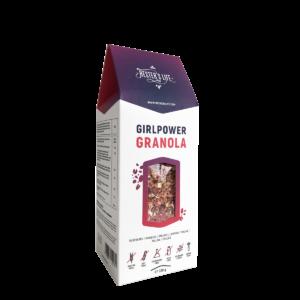 Hester's Life Girlpower Granola - málnás granola 320g