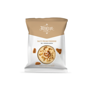 Hester's Life Salty Pecan Porridge sós pekándiós zabkása 50g