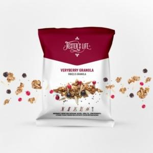 Hester's Life Veryberry Granola - ribizlis granola 60g