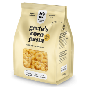 It's us Greta's kukorica tészta szarvacska 200g