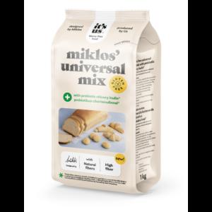 It's us Miklós' universal mix plus lisztkeverék prebiotikus cikóriainulinnal 1000g