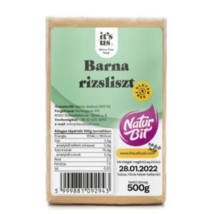 Its-us-Naturbit barna rizsliszt 500g