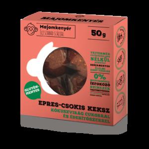 Majomkenyér epres-csokoládés keksz 50g