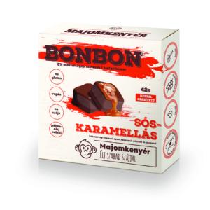 Majomkenyér sós-karamellás bonbon 42g