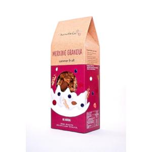 Mendula Morning Granola: meggyes-feketeribizlis granola mandulával 300g