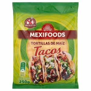 Mexifoods tortilla - kukoricás, gluténmentes 250g