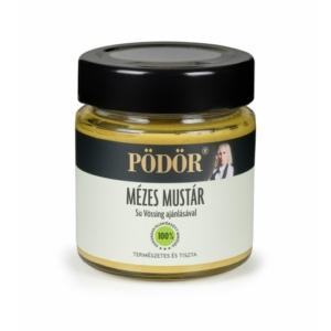 Pödör mézes mustár 130g