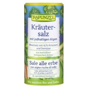 Rapunzel bio fűszersó jódtartalmú algával 125g