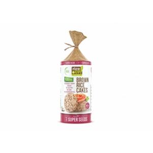 Rice Up barna rizs szelet 7 szupermagvas 120g
