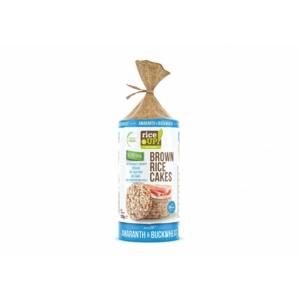 Rice Up barna rizs szelet hajdinával és amaránttal 120g