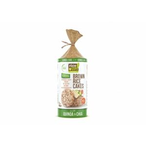 Rice Up barna rizs szelet chia maggal és quinoával 120g