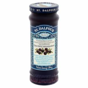 St.Dalfour gyümölcsvarázs extra fekete cseresznyedzsem 284g